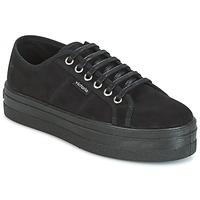 Παπούτσια Γυναίκα Χαμηλά Sneakers Victoria BLUCHER ANTELINA PLATAFORMA Black