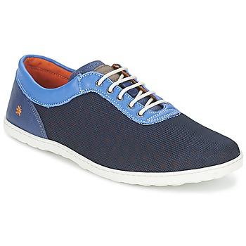 Παπούτσια Άνδρας Χαμηλά Sneakers Art QWERTY Μπλέ