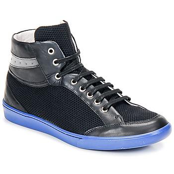 Παπούτσια Άνδρας Ψηλά Sneakers Swear GENE 3 Μαυρο / Mπλε