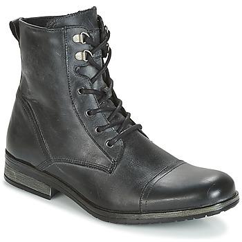 Παπούτσια Άνδρας Μπότες Casual Attitude RIBELLE Black