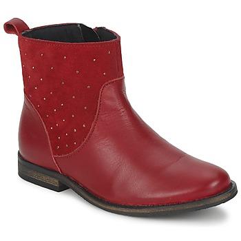 Παπούτσια Κορίτσι Μπότες Citrouille et Compagnie BELFINE Red