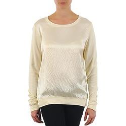 Υφασμάτινα Γυναίκα Μπλουζάκια με μακριά μανίκια Majestic 237 ECRU
