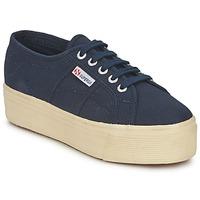 Παπούτσια Γυναίκα Χαμηλά Sneakers Superga 2790 LINEA UP AND Marine