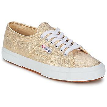 Παπούτσια Γυναίκα Χαμηλά Sneakers Superga 2751 LAMEW Gold