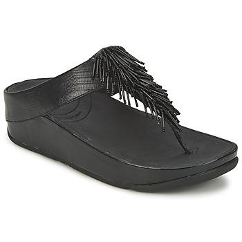 Παπούτσια Γυναίκα Σαγιονάρες FitFlop CHACHA Black