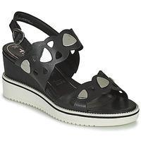Παπούτσια Γυναίκα Σανδάλια / Πέδιλα Tamaris MAGDA Black