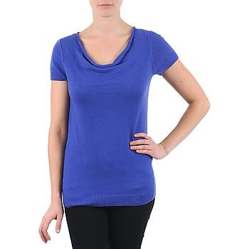 Υφασμάτινα Γυναίκα T-shirt με κοντά μανίκια La City PULL COL BEB Μπλέ