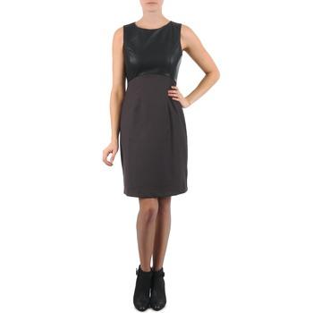 Υφασμάτινα Γυναίκα Κοντά Φορέματα La City RTANIA Black / Grey