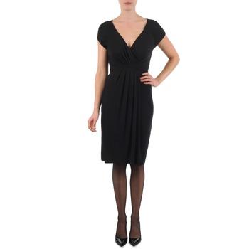 Υφασμάτινα Γυναίκα Κοντά Φορέματα La City ROBE3D1B Black