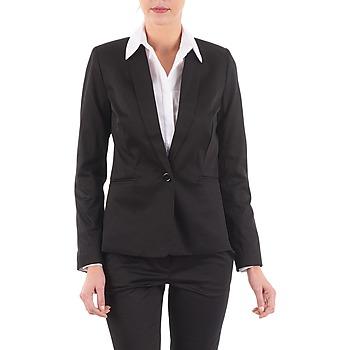 Υφασμάτινα Γυναίκα Σακάκι / Blazers La City VBASIC Black