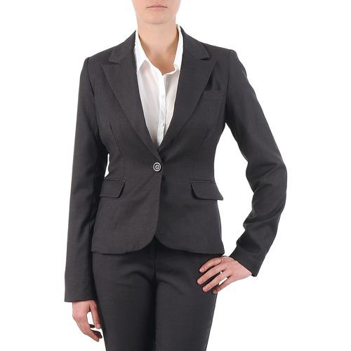 Υφασμάτινα Γυναίκα Σακάκι / Blazers La City VTANIA Grey