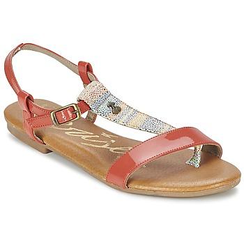Παπούτσια Γυναίκα Σανδάλια / Πέδιλα Le Temps des Cerises CARLY CORAIL CORAIL