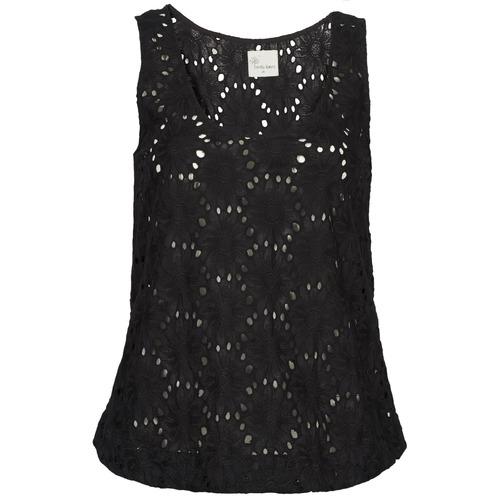 Υφασμάτινα Γυναίκα Αμάνικα / T-shirts χωρίς μανίκια Stella Forest ADE007 Black