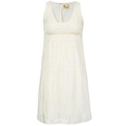 Υφασμάτινα Γυναίκα Κοντά Φορέματα Stella Forest ARO015 Ecru