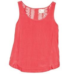 Υφασμάτινα Γυναίκα Αμάνικα / T-shirts χωρίς μανίκια Stella Forest ADE009 Ροζ