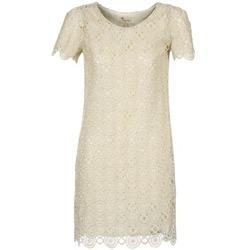Υφασμάτινα Γυναίκα Κοντά Φορέματα Stella Forest ARO051 Ecru / Dore