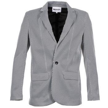 Υφασμάτινα Γυναίκα Σακάκι / Blazers American Retro JACKYLO άσπρο / Black