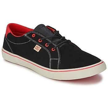 Παπούτσια Γυναίκα Χαμηλά Sneakers DC Shoes COUNCIL W Black / Red