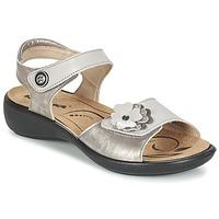 Παπούτσια Γυναίκα Σανδάλια / Πέδιλα Romika IBIZA 67 Argenté