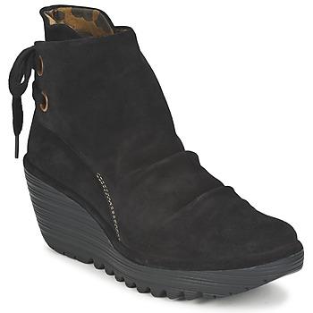 Παπούτσια Γυναίκα Μποτίνια Fly London YAMA Black