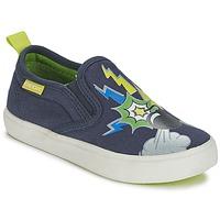Παπούτσια Αγόρι Slip on Geox KIWI B. D μπλέ / Green