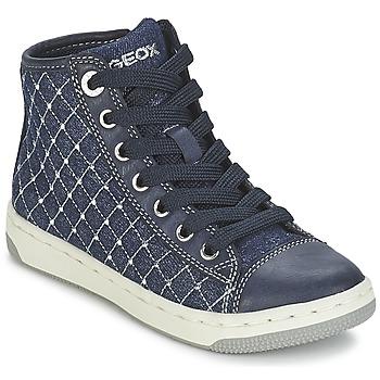 Παπούτσια Κορίτσι Ψηλά Sneakers Geox CREAMY B Marine