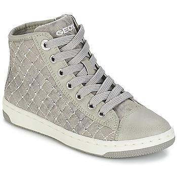 Παπούτσια Κορίτσι Ψηλά Sneakers Geox CREAMY B Grey