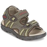 Παπούτσια Αγόρι Σπορ σανδάλια Geox S.STRADA A Brown / Ocre