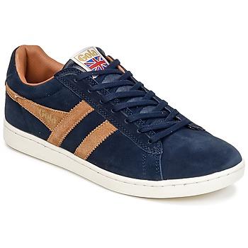 Παπούτσια Άνδρας Χαμηλά Sneakers Gola EQUIPE SUEDE Marine / Brown