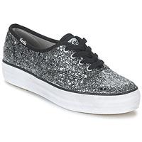 Παπούτσια Γυναίκα Χαμηλά Sneakers Keds TRIPLE GLITTER Argenté