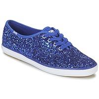Παπούτσια Γυναίκα Χαμηλά Sneakers Keds CHAMPION GLITTER Μπλέ