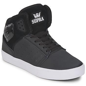 Παπούτσια Άνδρας Ψηλά Sneakers Supra ATOM Black / Άσπρο