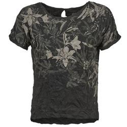 Υφασμάτινα Γυναίκα T-shirt με κοντά μανίκια Oxbow NIANA Black