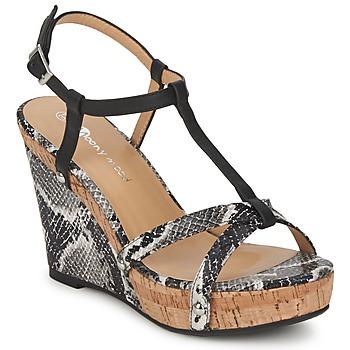 Παπούτσια Γυναίκα Σανδάλια / Πέδιλα Moony Mood NILO Black