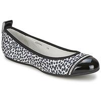 Παπούτσια Γυναίκα Μπαλαρίνες Bikkembergs BASAR 910 Black / Άσπρο