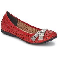 Παπούτσια Γυναίκα Μπαλαρίνες Un Matin d'Ete DISTRICTY Red