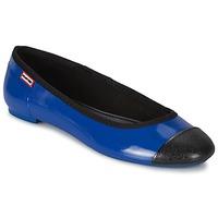 Παπούτσια Γυναίκα Μπαλαρίνες Hunter ORIGINAL BALLET FLAT  Cobalt