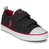 Παπούτσια Παιδί Χαμηλά Sneakers Polo Ralph Lauren WHEREHAM LOW EZ Μπλέ