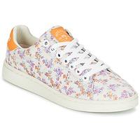 Παπούτσια Γυναίκα Χαμηλά Sneakers Pepe jeans CLUB FLOWERS Άσπρο