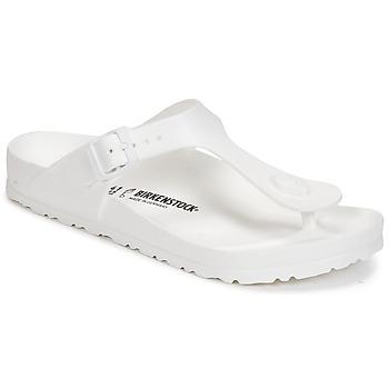 Παπούτσια Γυναίκα Σαγιονάρες Birkenstock GIZEH EVA Άσπρο