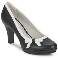 Παπούτσια Γυναίκα Γόβες Bugatti AZELINIA Black / άσπρο