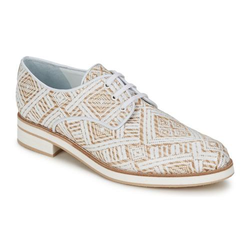 Παπούτσια Γυναίκα Derby Stéphane Kelian HUNA 7 Άσπρο