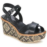 Παπούτσια Γυναίκα Σανδάλια / Πέδιλα Stéphane Kelian BELLA 7 Black