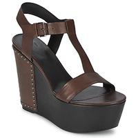 Παπούτσια Γυναίκα Σανδάλια / Πέδιλα Vic GIBSON Brown