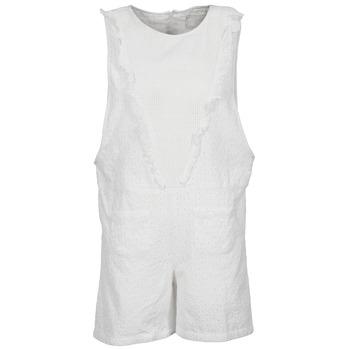 Υφασμάτινα Γυναίκα Ολόσωμες φόρμες / σαλοπέτες Brigitte Bardot BB44084 άσπρο