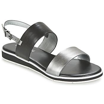 Παπούτσια Γυναίκα Σανδάλια / Πέδιλα JB Martin LOU Black / Argenté
