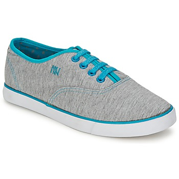 Παπούτσια Γυναίκα Χαμηλά Sneakers Dorotennis C1 TENNIS RICHELIEU LACETS SEMELL JERSEY Grey / TURQUOISE