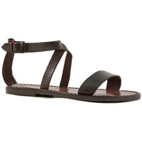 Παπούτσια Γυναίκα Σανδάλια / Πέδιλα Gianluca - L'artigiano Del Cuoio 509 D MORO CUOIO Testa di Moro