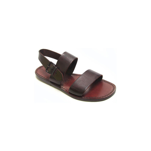 Παπούτσια Γυναίκα Σανδάλια / Πέδιλα Gianluca - L'artigiano Del Cuoio 500 D MORO CUOIO Testa di Moro