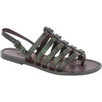 Παπούτσια Γυναίκα Σανδάλια / Πέδιλα Gianluca - L'artigiano Del Cuoio 576 D MORO CUOIO Testa di Moro